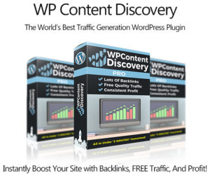 WP Content Discovery Plugin Pro Instant Download By Mike Murphy