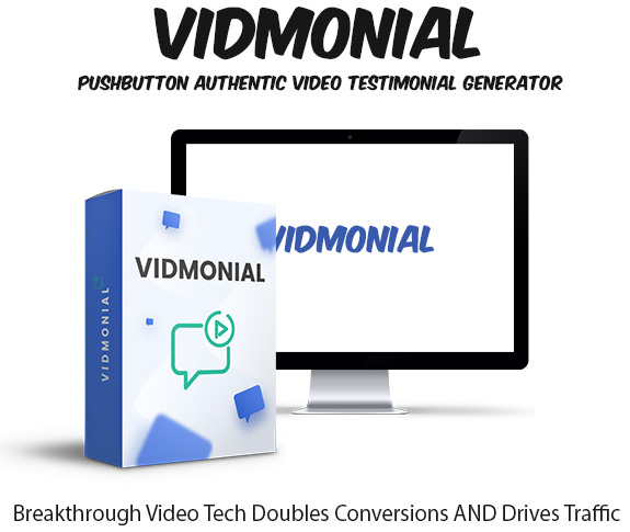 Vidmonial Software Commercial Instant Download By Ben Murray