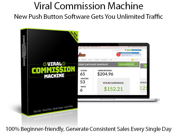 Viral Commission Machine Pro License Instant Download By ProfitJackr