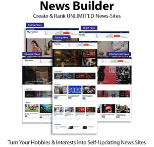News Builder Software Instant Download Pro License By Ben Carroll