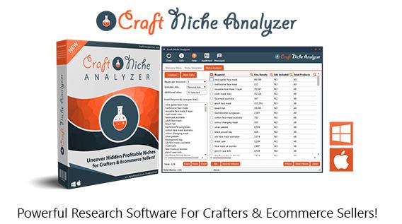 Craft Niche Analyzer Software Pro Instant Download By Dave Guindon