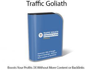Traffic Goliath Plugin Instant Download By George Katsoudas.