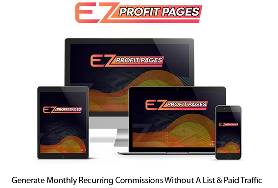 EZ Profit Pages Software Instant Download By Glynn Kosky