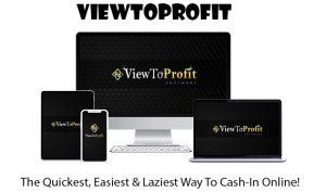 ViewToProfit Software Pro Instant Download By Billy Darr